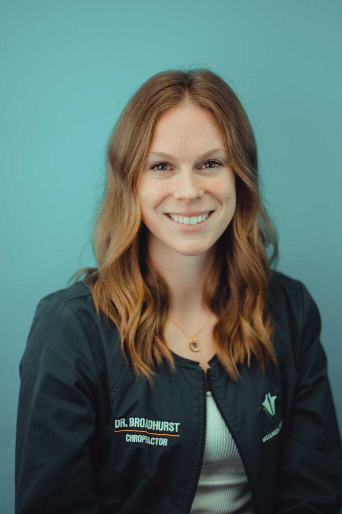 Dr. Courtney Broadhurst - portrait - green