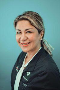 Dr. Maryam Hassanzadeh - portrait - green